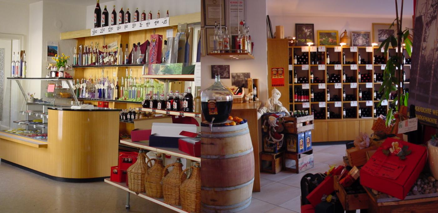 Der Laden bekommt ein neues Gesicht – wird Vino-/Spirothek